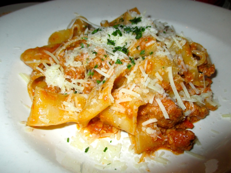 Highland Kitchen's Pappardelle Bolognese