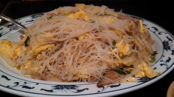 Fuzhou style noodles