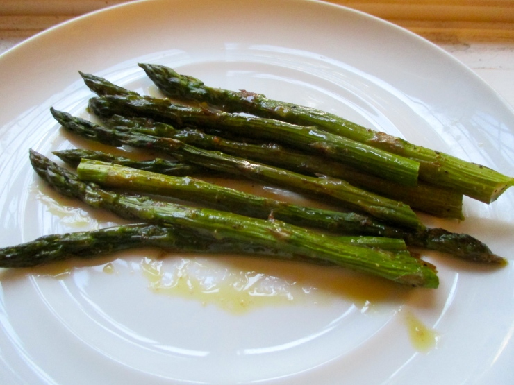 Roasted Asparagus with Smoked Paprika