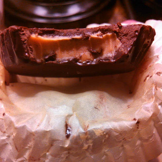 Homemade peanut butter cup